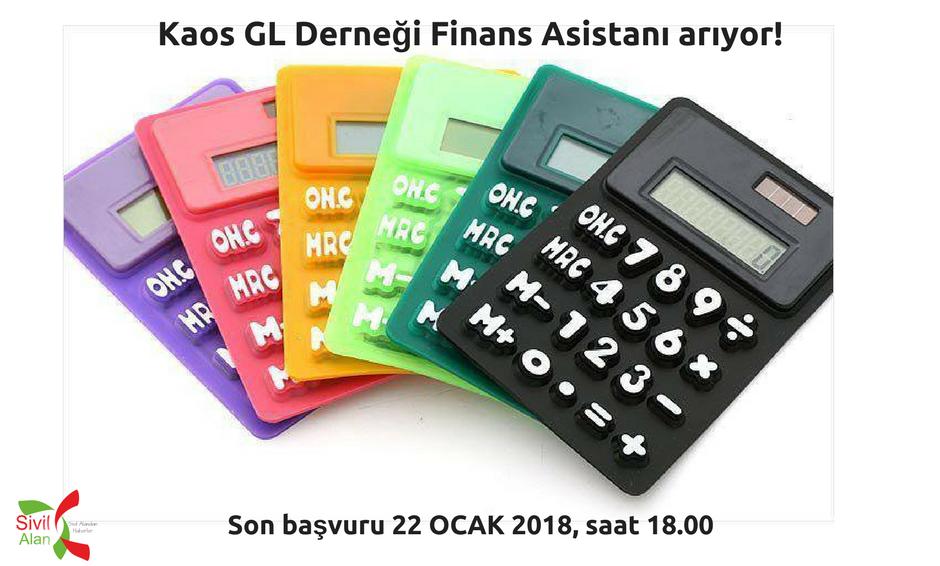 Kaos GL Derneği Finans Asistanı arıyor!