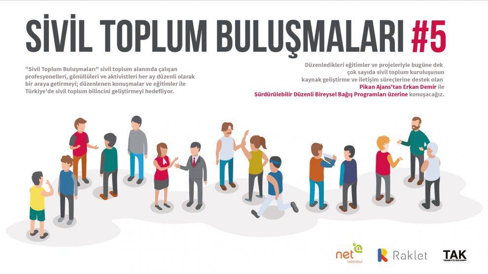 Sivil Toplum Bulusmalari #5- Sürdürülebilir Düzenli Bireysel Bağış