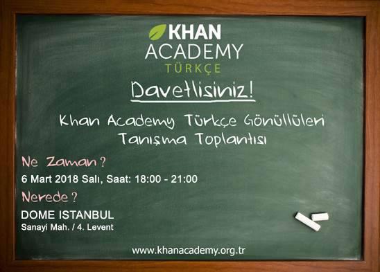 Khan Academy Gönüllüleri Buluşuyor!
