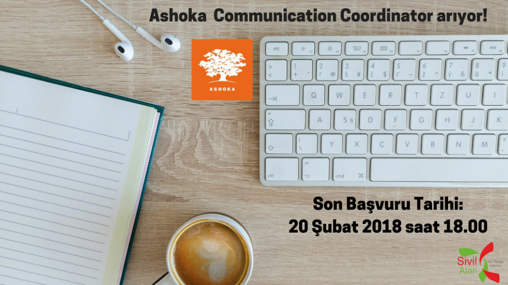 Ashoka Communication Coordinator arıyor!