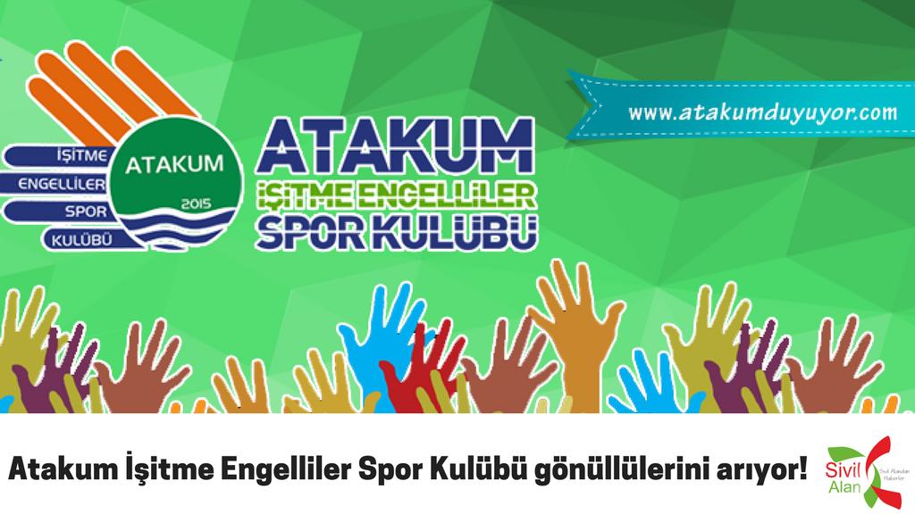 Atakum İşitme Engelliler Spor Kulübü gönüllülerini arıyor!
