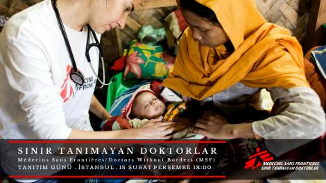 MSF Tanıtım Günü: Sınır Tanımayan Doktorlar (MSF) İstanbul'da
