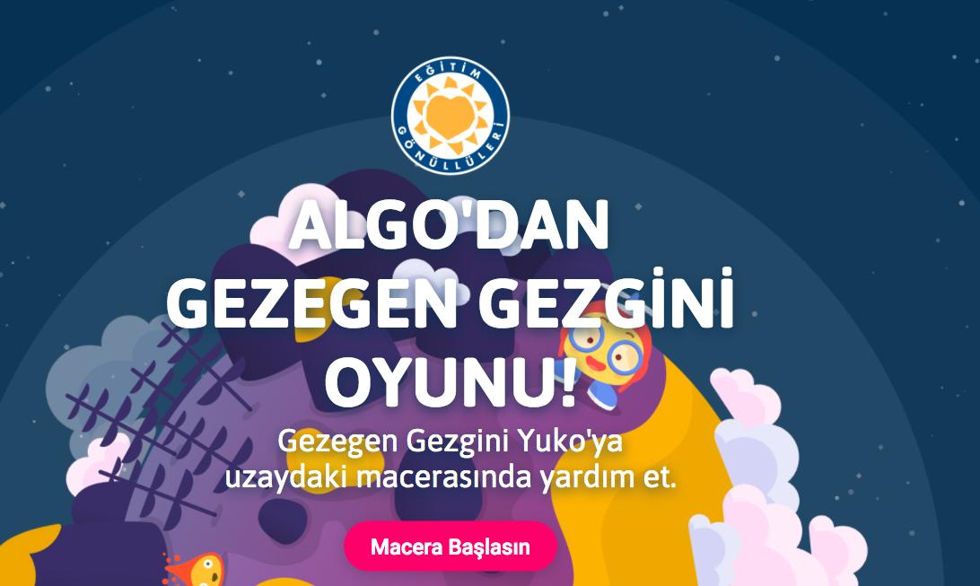 Çocuklara algoritma ve yazılım öğreten ücretsiz platform: Algo Dijital
