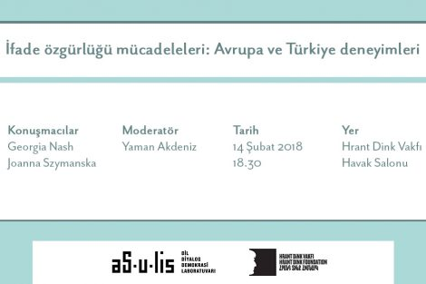İfade özgürlüğü mücadeleleri: Avrupa ve Türkiye deneyimleri paneli
