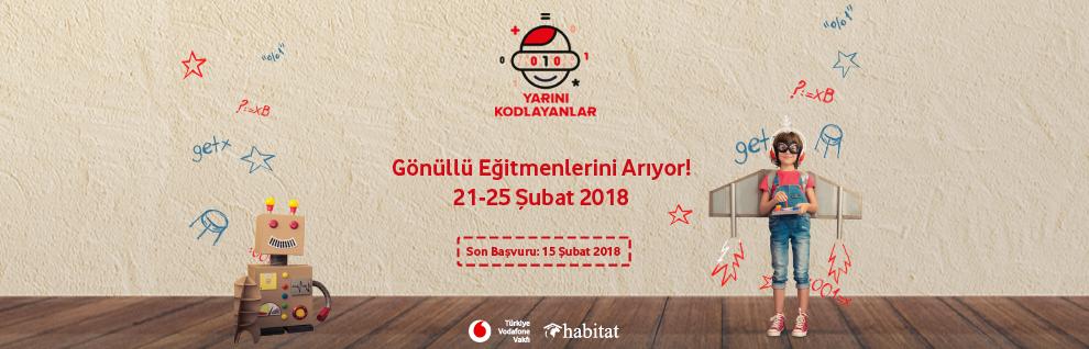 Yarını Kodlayanlar Projesi Ankara'da Gönüllü Eğitmenlerini Arıyor!