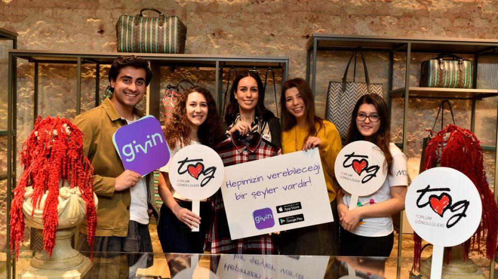 TOG'un Yetişkin Gönüllüleri, Toplum Gönüllüsü gençler için Givin'de buluştu.
