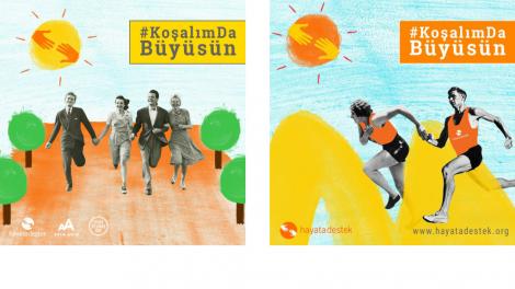 Hayata Destek Takımı, yenidoğanlar için bu kez de Runatolia'da koşuyor!