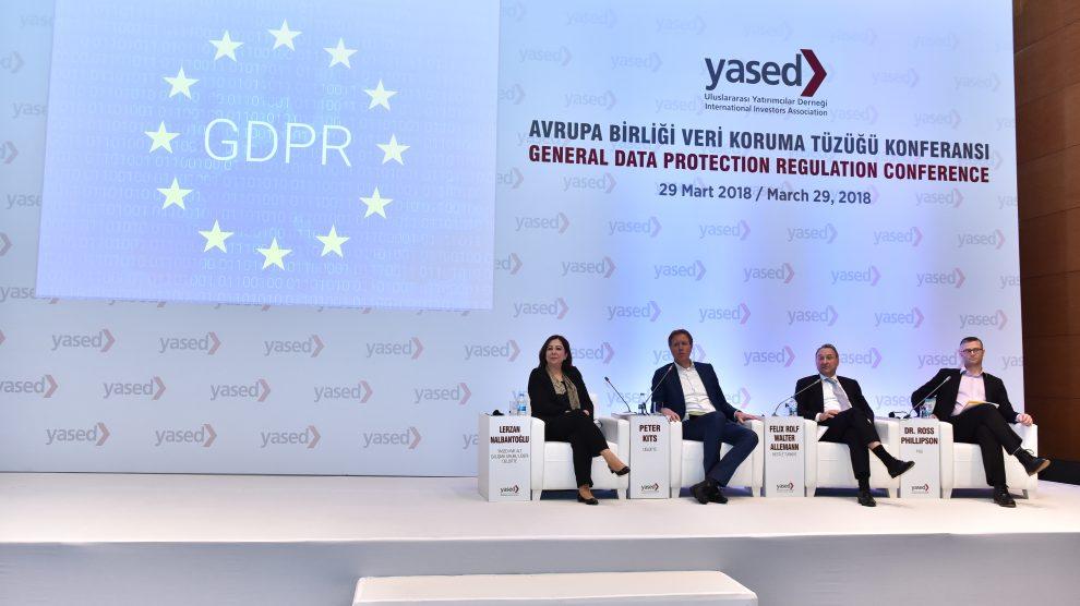 """YASED """"Kişisel Verilerin Güvenliği"""" konferansı düzenledi"""