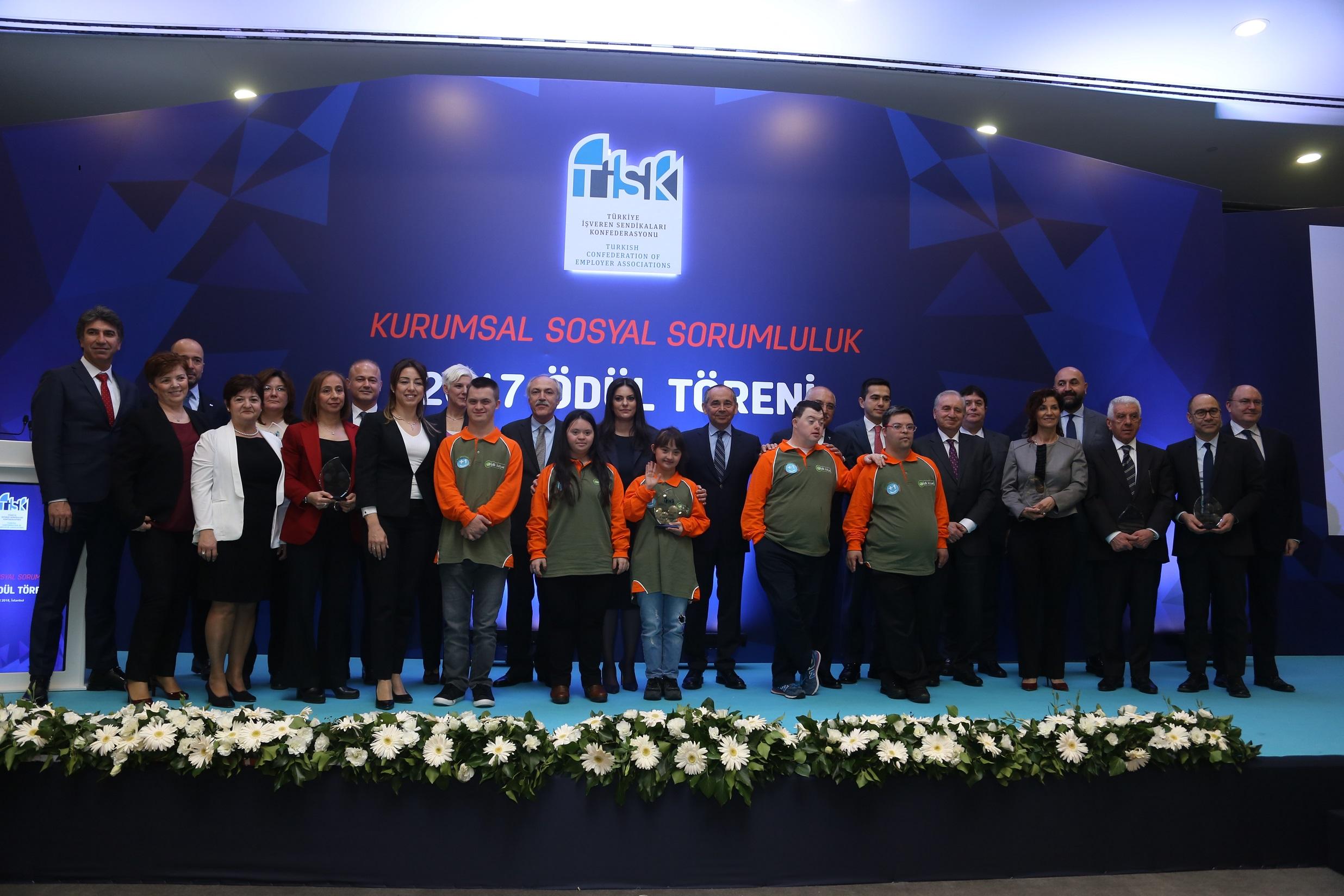 TİSK'in geleneksel Kurumsal Sosyal Sorumluluk Ödülleri Sahiplerini Buldu!