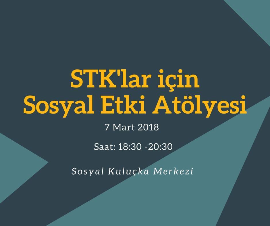 STK'lar için Sosyal Etki Atölyesi
