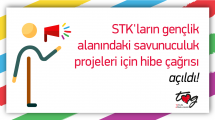 STK'ların gençlik alanındaki savunuculuk projeleri için hibe çağrısı açıldı!
