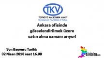 Türkiye Kalkınma Vakfı Ankara ofisinde görevlendirilmek üzere satın alma uzmanı arıyor!