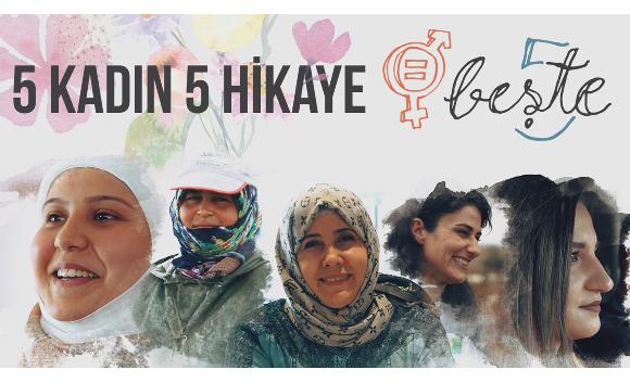 Dünya Kadınlar Günü'nde Türkiye'den ilham veren beş güçlü kadın portresiDünya Kadınlar Günü'nde Türkiye'den ilham veren beş güçlü kadın portresi