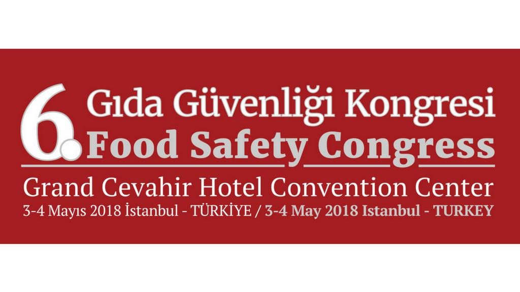 6. Gıda Güvenliği Kongresi