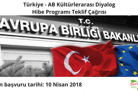 Türkiye - AB Kültürlerarası Diyalog Hibe Programı Teklif Çağrısı