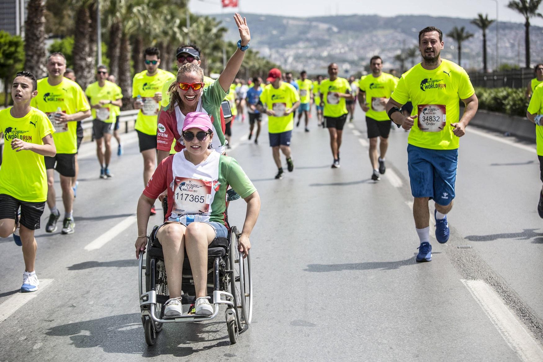 İzmir Wings For Life World Run için son 35'i sayıyor