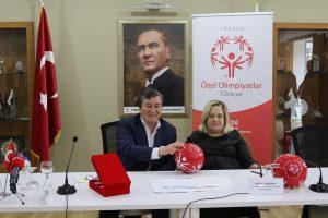 Özel Olimpiyatlar Türkiye ile Türkiye Spor Yazarları Derneği'nden Anlamlı İş Birliği