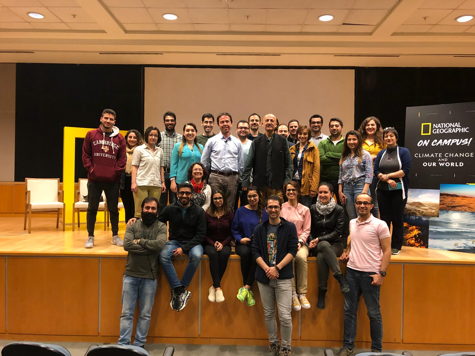 """İlk """"National Geographic on Campus"""" etkinliği, İPM işbirliğiyle Sabancı Üniversitesi'nde yapıldı"""