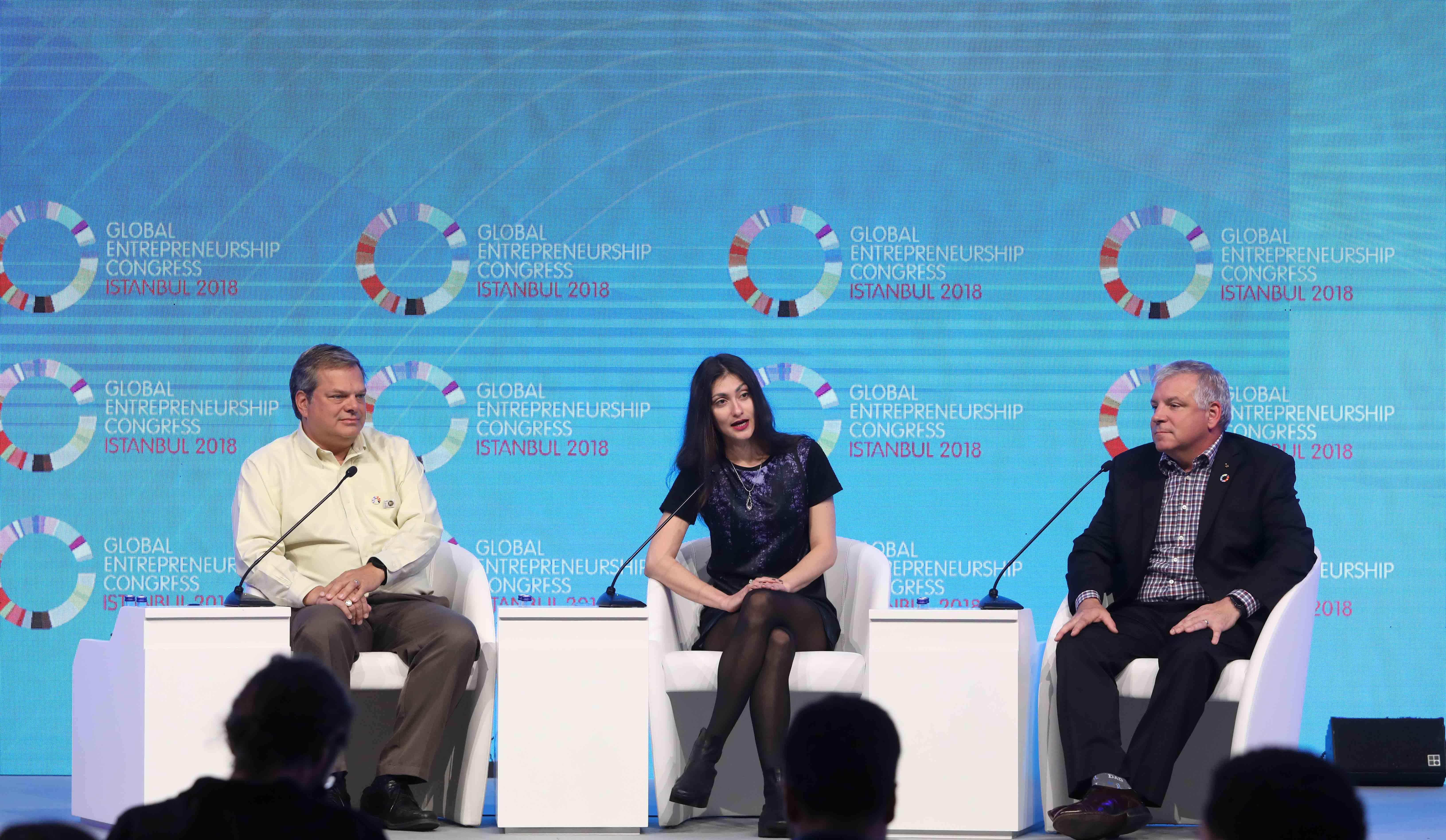 Türkiye'de ilk ve tek kez düzenlenen Global Girişimcilik Kongresi, 170'i aşkın ülkeden 7 bin kişinin katılımı ile tamamlandı.