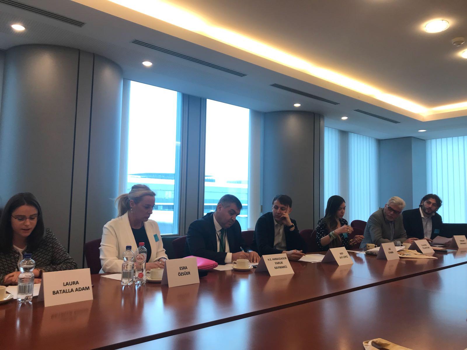 Maya Vakfı Avrupa Parlamentosu'nda Eğitim İçin Köprüler Kuruyor