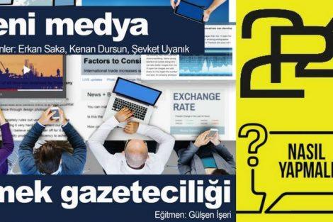Ücretsiz Yeni Medya ve Emek Gazeteciliği Atölyesi- 14 Nisan 2018 - Bursa