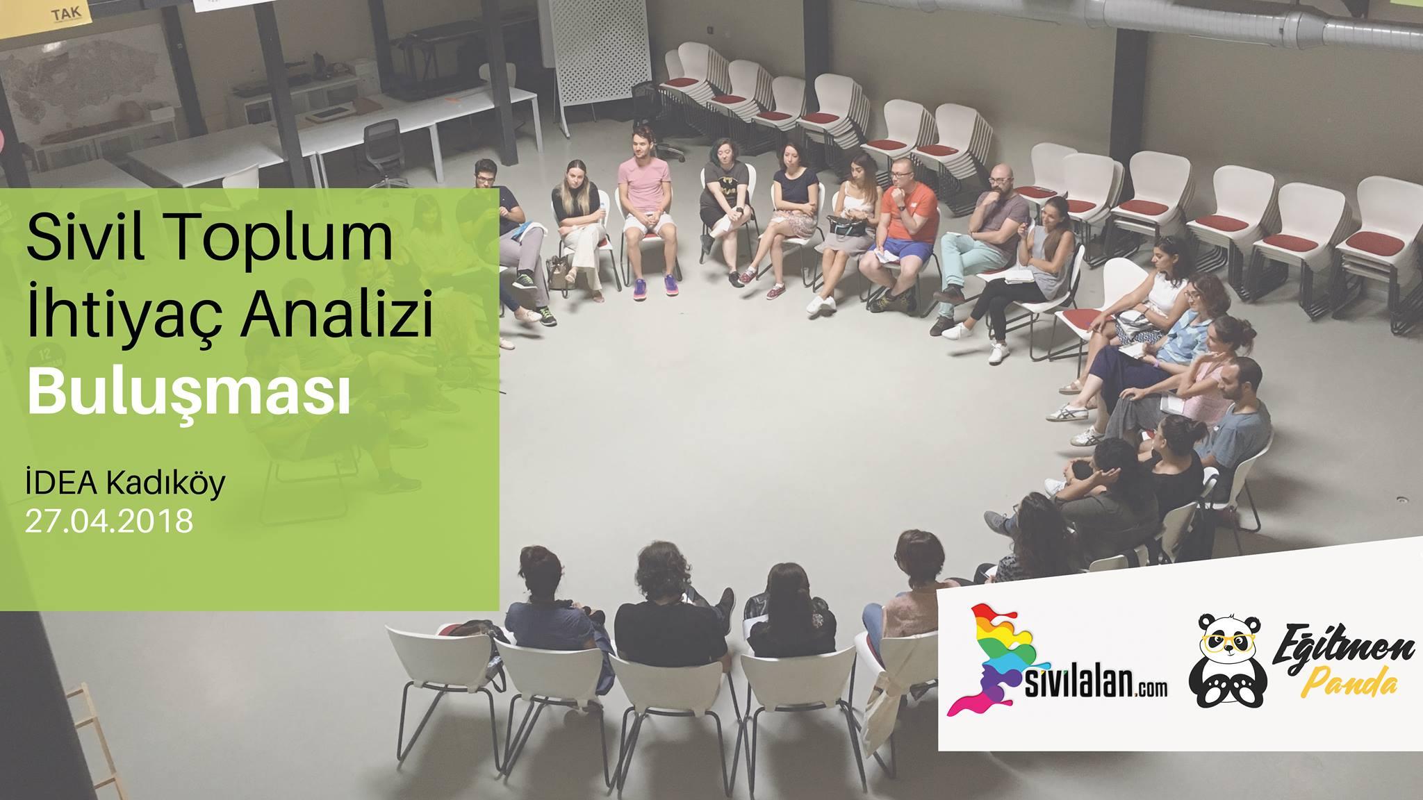 Sivil Toplum Kuruluşları İhtiyaç Analizi Buluşması - 27 Nisan 2018