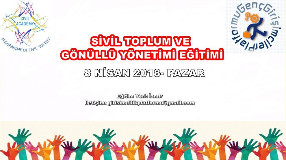 Ücretsiz Sivil Toplum ve Gönüllü Yönetimi Eğitimi - İzmir