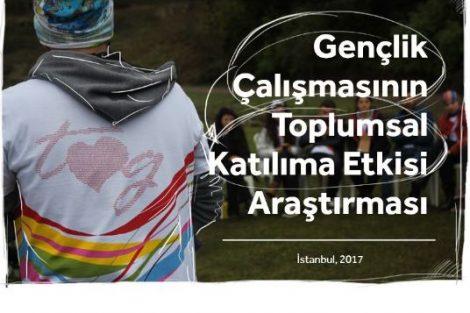 """""""Gençlik Çalışmasının Gençlerin Toplumsal Katılımına Etkisi"""" araştırmasının sonuçları açıklandı!"""