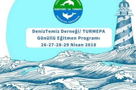 DenizTemiz Derneği / TURMEPA 10 İlden Gönüllü Eğitmenlerini Arıyor!