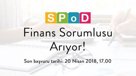 SPoD Finans Sorumlusu Arıyor!