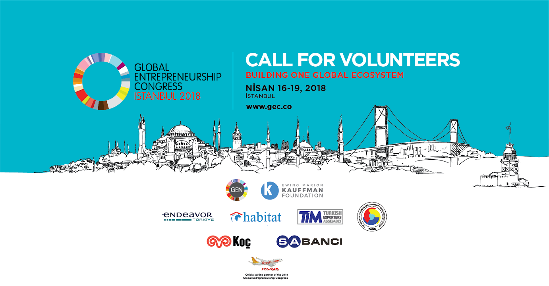 Global Girişimcilik Kongresi Gönüllülerini arıyor!