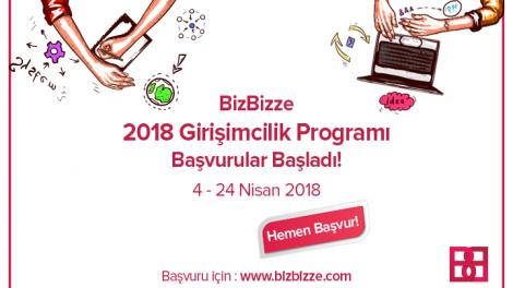 Bizbizze 2018 Girişimcilik Programı Başlıyor!