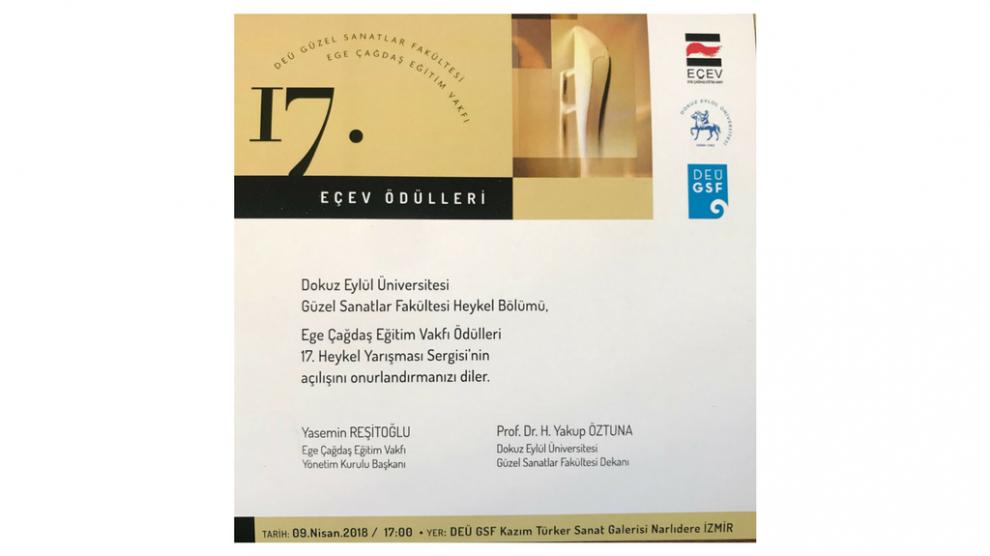 EÇEV Ödülleri 17. Heykel Yarışması Sonuçlandı