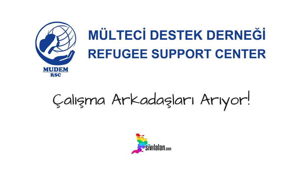 Mülteci Destek Derneği (MUDEM) Çalışma Arkadaşları Arıyor!