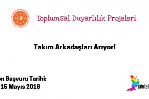 Sabancı Üniversitesi Toplumsal Duyarlılık Projeleri ( CIP ) Ofisi Takım Arkadaşları Arıyor!