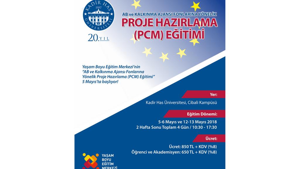 AB ve Kalkınma Ajansı Fonlarına Yönelik Proje Hazırlama (PCM) Eğitimi