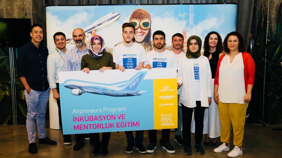 """""""Airpreneurs"""" Programı'nın İkincisinin Kazananları Belli Oldu !"""
