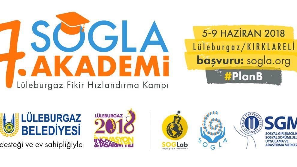7. SOGLA Akademi Lüleburgaz Fikir Hızlandırma Kampı 5-9 Haziran'da gerçekleşecek!