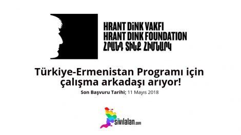 Hrant Dink Vakfı, Türkiye-Ermenistan Programı için çalışma arkadaşı arıyor!