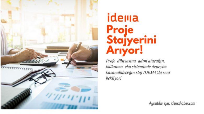 IDEMA, Proje Stajyerini Arıyor !
