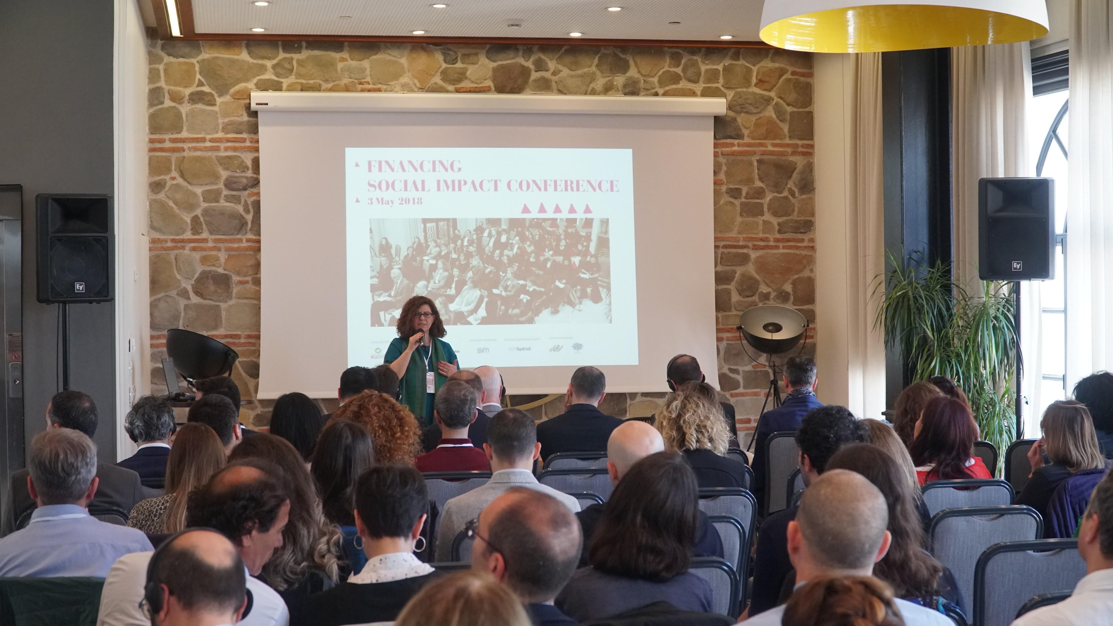 Financing Social Impact Conference Sosyal Fi̇nansman Sektöründen Uzmanlari Bi̇r Araya Geti̇rdi̇