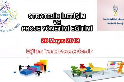 Stratejik İletişi ve Proje Yönetimi Eğitimi