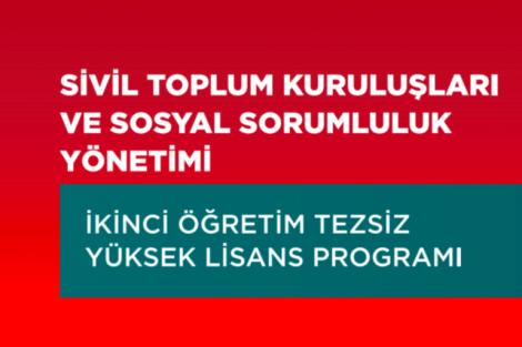 İstanbul Üniversitesi STK Yüksek Lisans Başvuruları Başladı!
