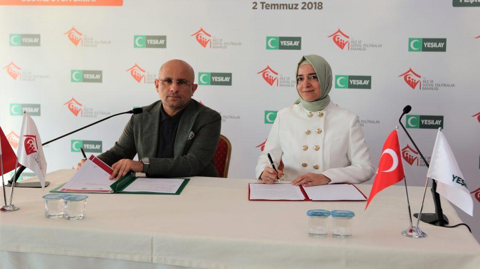 Aile ve Sosyal Politikalar Bakanlığı ile Yeşilay'dan bağımlılıkla mücadelede güç birliği