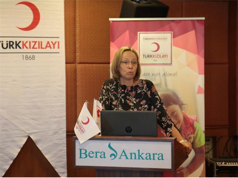 Türk Kızılayı'ndan İnsan Ticareti'ni Önlemeye Yönelik Farkındalık Çalışması