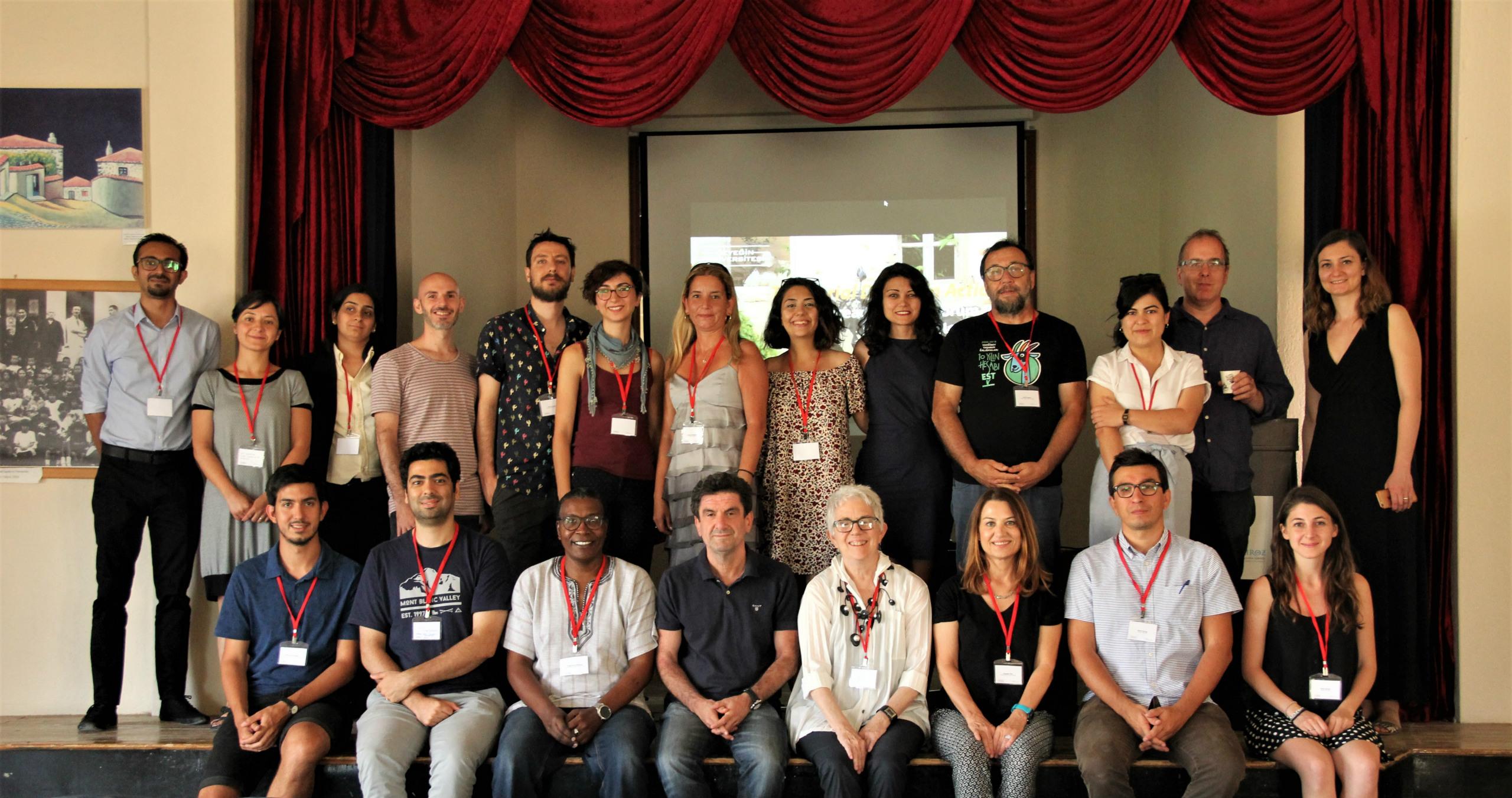 Gökçeada'nın sosyal gelişim süreci dünyanın dört bir yanından katılımcılarla masaya yatırıldı