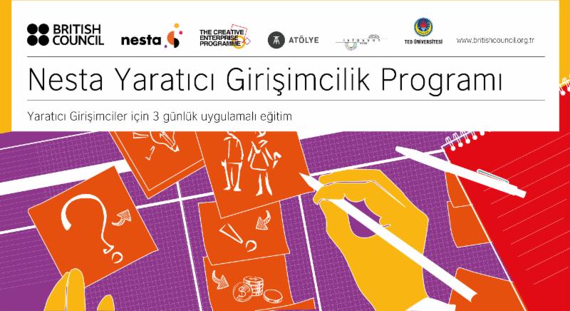 Nesta Yaratıcı Girişimcilik Programı Ankara ve İstanbul'da