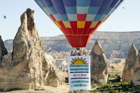 Kapadokya'dan İklim için Ses Ver'meye davet