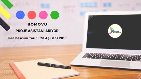 BoMoVu Proje Asistanı Arıyor!