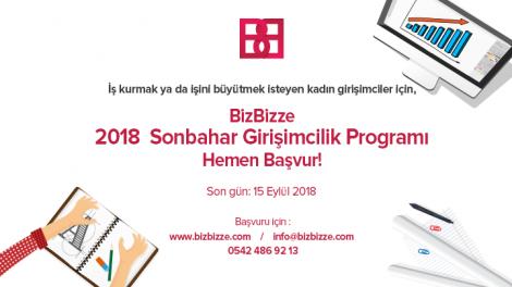 BizBizze 2018 Sonbahar Girişimcilik Programı girişimcilerini bekliyor!
